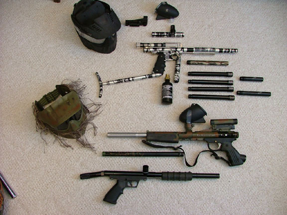 Paintball collection